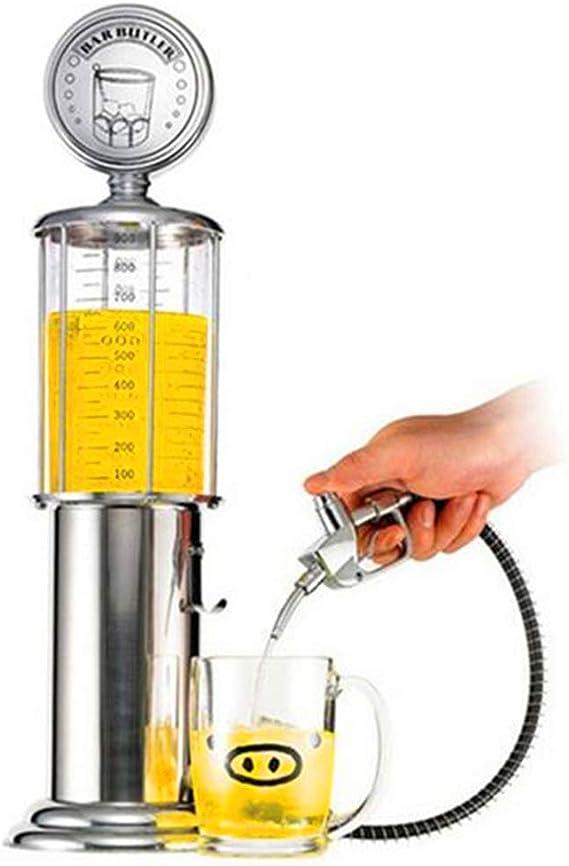 Mmyunx Juego de Mesa Mini dispensador de Cerveza máquina de Beber Vasos una Bomba de Pistola con Capa Transparente diseño de la estación de Gas Bar para Beber: Amazon.es: Deportes y aire