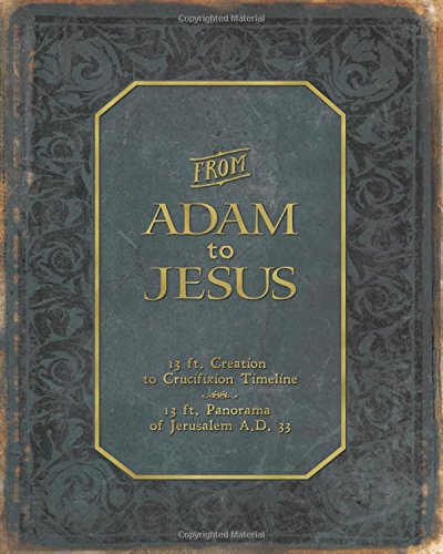 From Adam to Jesus - the Creation to Crucifixion Ancient Bible History Timeline