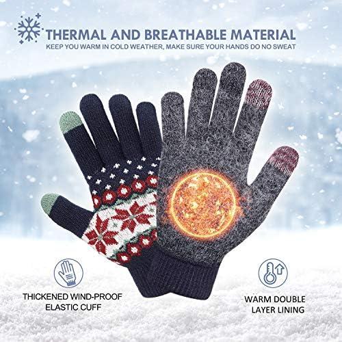 Heat Holders-Da Donna all/'Uncinetto Lavorato a Maglia Inverno Caldo Thermal Guanti senza dita