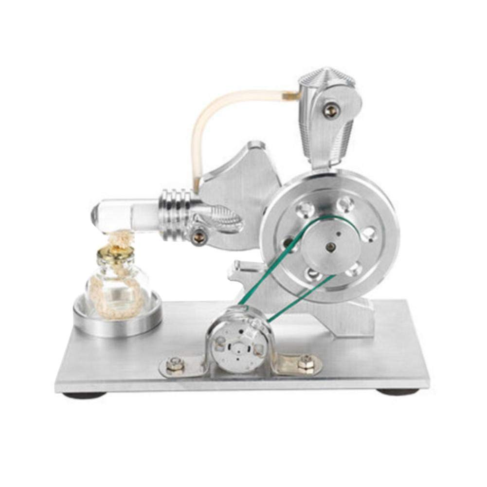 At27clekca Squirrel Hot Air Stirling Engine Model Motor Steam Power Education Toy Electricity Generator by At27clekca (Image #7)