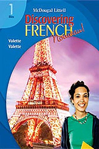 Discovering French, Nouveau!: Audio CD Program Level 1 by MCDOUGAL LITTEL