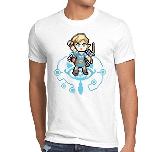 Breath Wild Zelda de Of Link hombre Snes White The para Hormiga Ocarina Camiseta qPwA0fI