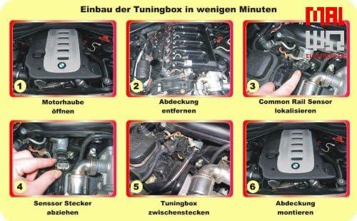 MAL Electronics GmbH CR PowerBox Diesel Chiptuning Modul passend f/ür Citroen Jumpy 2.0 HDI 125 94 KW 320 NM 128 PS