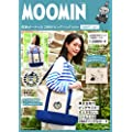 MOOMIN 2WAY BIG BAG BOOK NAVY