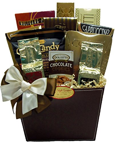 Delight Expressions Bean Me up Gourmet Food Gift Basket - A Father's Day Gift Idea - Birthday or Get Well Gift!