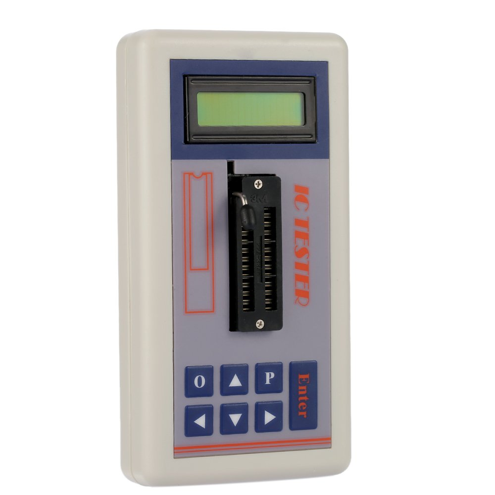 Transistor Tester Integrated Circuit IC Tester Meter Maintenance Tester MOS PNP NPN Detector 3.3V/5.0V/Auto Search Mode by Unknown (Image #3)