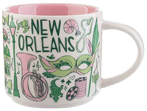 Starbucks New Orleans Ceramic Coffee Mug Been There Series Cup (New Coffee Cup Mug)
