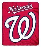 The Northwest Company Washington Nationals 50x60 Fleece Blanket - Wicked Design
