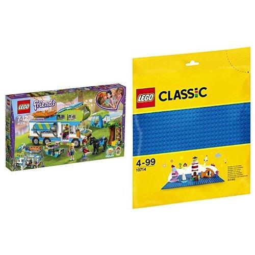 LEGO 프렌드 미아 야영 41339 & 클래식 페널 10714