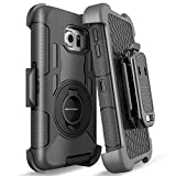 S6 Edge Case, Galaxy S6 Edge Case, BENTOBEN Shockproof Heavy Duty Protection Hybrid