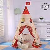Pericross-Teepee Tente Indienne de Jouet pour Enfant intérieur ou extérieur