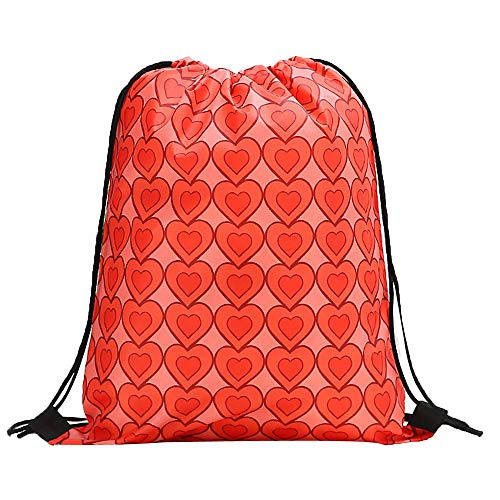 Rakkiss Women Backpack Storage Bundle Rope Valentine's Day Bag Shopping Drawstring Bag (Bags Designer Miu Miu)
