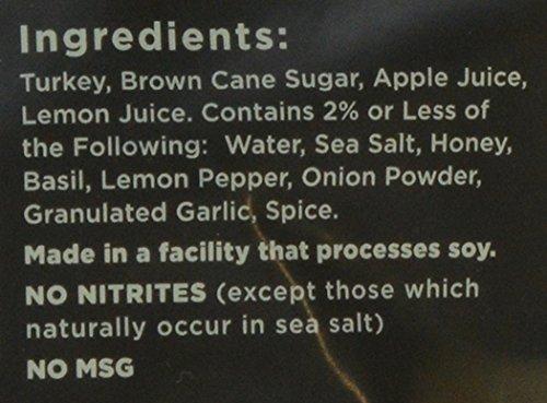 Krave Citrus Basil Jerky 3.25oz (Turkey)