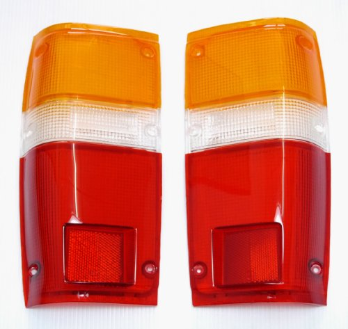 Toyota Pick up Truck 1984-1988 Tail Lights Lens Lenses Pair 84 85 86 87 88