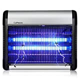 Bug Zapper Fly Trap Mosquito Killer Insect Killer, Home Night Lamp 6000 Sq.Ft Coverage 2800v Grid 20w Bulbs. Great for Commercial Industrial Use. Indoor Use 100% Refund Guarantee for Our Insect Trap.