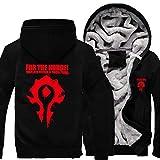 Game-World-of-Warcraft-Mens-Coat-WOW-Horde-Hoodie-Alliance-Sweatshirt