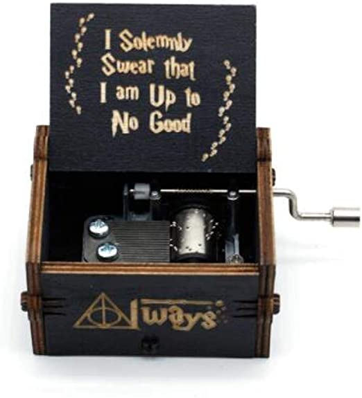 FGHFG Caja de música Harry Potter Bebés Musical Box Tema DIY 18 ...