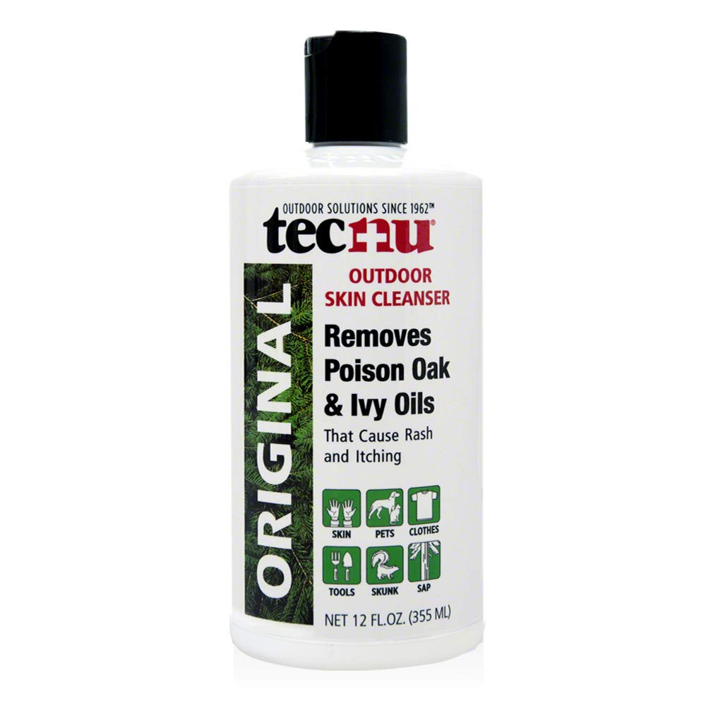 Tecnu Original Outdoor Skin Cleanser, First Step in Poison Oak and Ivy Treatment, 12 Ounces by Tec Labs