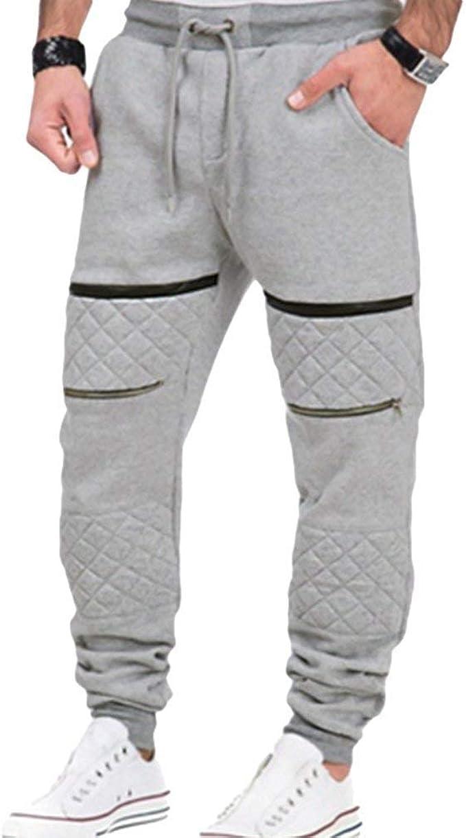 Saoye Fashion Pantalones De Chándal Chinos Slim Fit Fit para ...