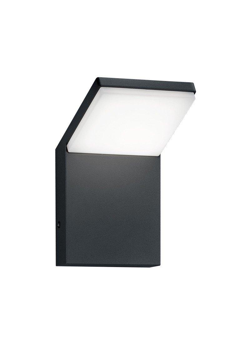 Trio Leuchten LED-Aussen-Wandleuchte Pearl Aluminiumguss, anthrazit 221169142 [Energieklasse A+]