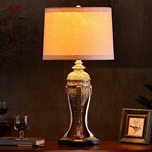 SAEJJ-warme und kreative Wohnzimmer Schlafzimmer Nachttischlampe amerikanischen Land Dekorieren , Lampen , Schalter dimmen