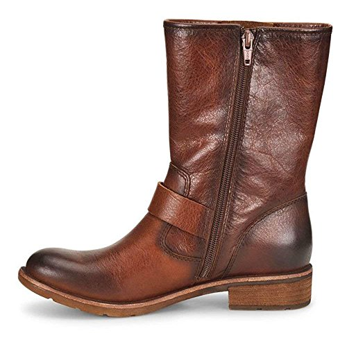 Sofft Womens Belmont Leather Round Toe Mid-Calf Fashion Boots, Whiskey, Size ()