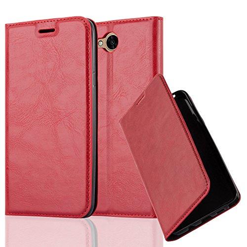 Cadorabo - Funda Book Style Cuero Sintético en Diseño Libro para >                          LG X POWER 2                          <