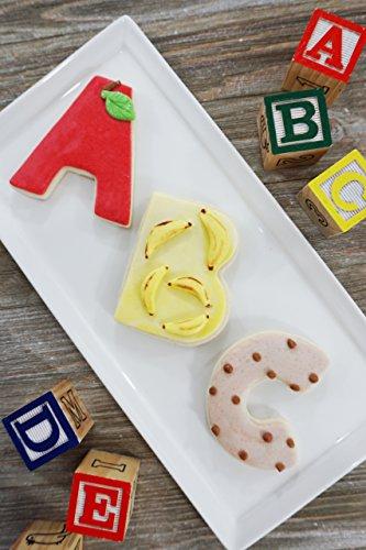 R&M International 1954 Alphabet 3'' Cookie Cutters, 26-Piece Set in Gift Box by R & M International (Image #3)