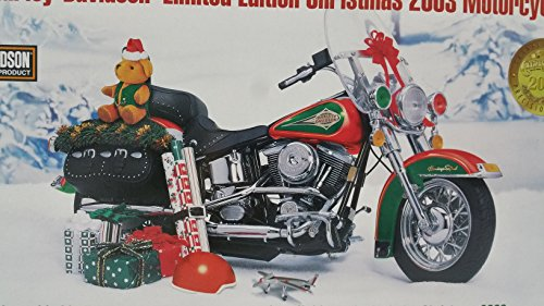 Franklin Mint The Harley-Davidson Limited Edition Christmas 2003 Motorcycles Precision Models ()