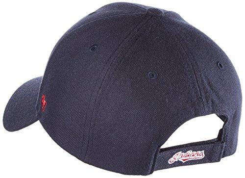 47 Brand MVP08 Adjustable Cap CLEVELAND INDIANS Dunkelblau