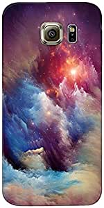 Snoogg Diseñador Tormenta Universo Protectora Volver Funda Para Samsung Galax...