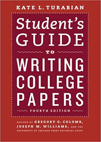 com student s guide to writing college papers fourth  com student s guide to writing college papers fourth edition chicago guides to writing editing and publishing 9780226816319 kate l turabian