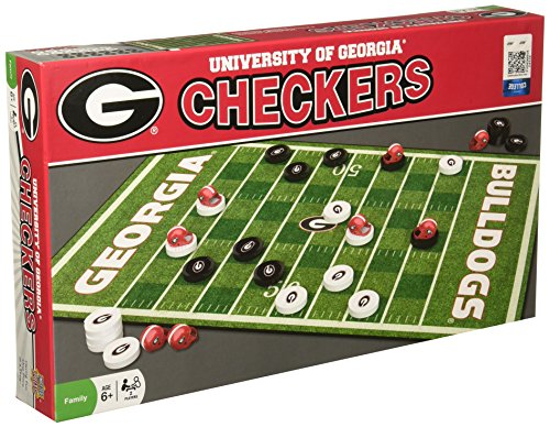 (MasterPieces Collegiate Georgia Checkers)