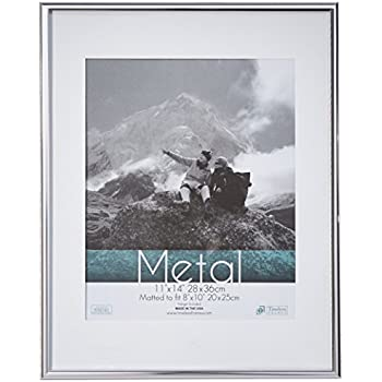 Timeless Frames Metal Wall Photo Frame, 16 by 20-Inch, Silver