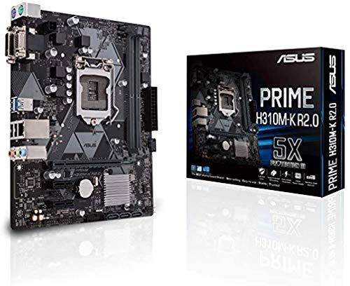 ASUS Prime H310M-K R2.0 moederbord socket Intel LGA 1151 (Micro ATX, DDR4, SATA 6Gbit/s, USB 3.1 Gen 1)