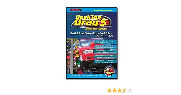COMP Cams 186011 Pro Racing Sim Desk Top Dyno 5 Software