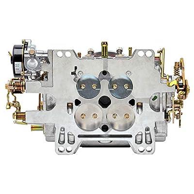 Edelbrock 1411 Performer 750 CFM Square Bore 4-Barrel Air Valve Secondary Electric Choke New Carburetor: Automotive