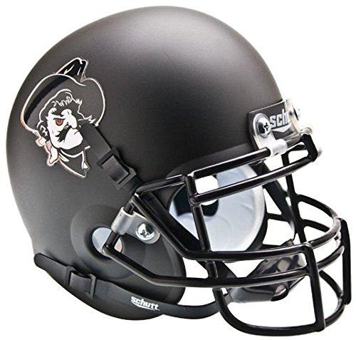 Schutt NCAA Oklahoma State Cowboys Collectible Pistol Pete Alt 4 Mini Helmet, Matte ()