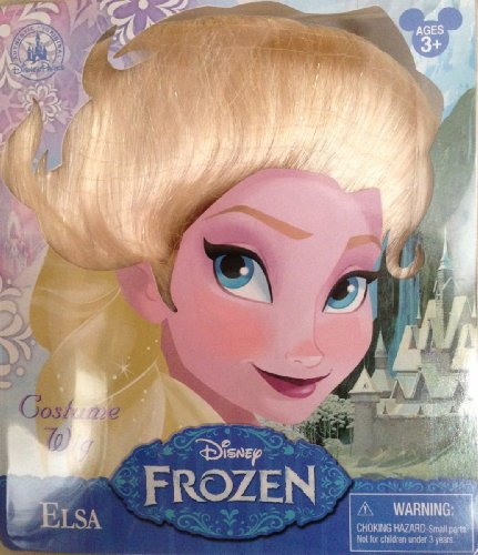 Disney Parks Princess Elsa Wig