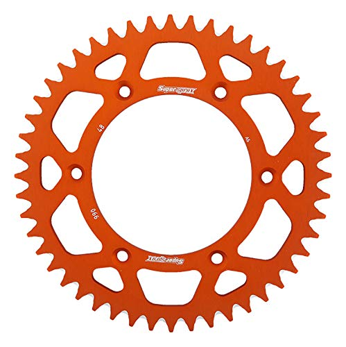 SuperSprox RAL-990-48-ORG Orange Aluminum Sprocket