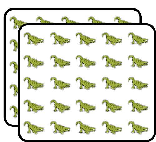 Alligator Sticker for Scrapbooking, Calendars, Arts, Kids DIY Crafts, Album, Bullet Journals 50 Pack