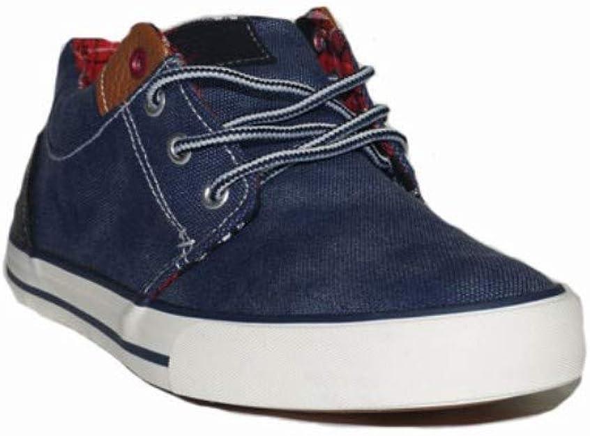 TONY.P ZAPATILLATONNY-VAQUEROL RL071 Zapatillas Deportivas Lona Mujer Vaquero Azules Moda Cómodas: Amazon.es: Zapatos y complementos