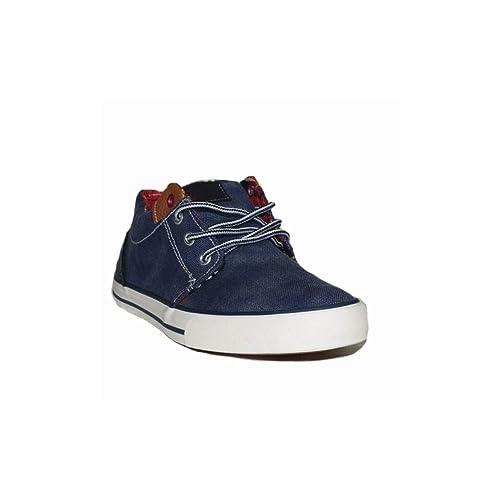P ZAPATILLATONNY-VAQUEROL RL071 Zapatillas Deportivas Lona Mujer Vaquero Azules Moda Cómodas: Amazon.es: Zapatos y complementos