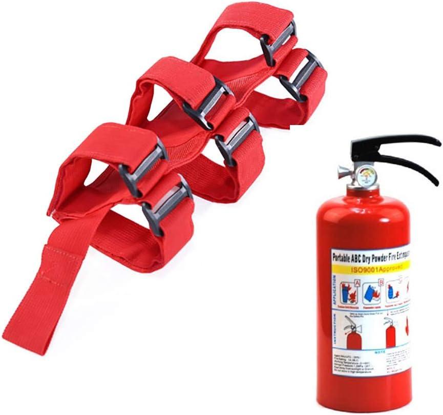 Rojo Dingln Extintor De Soporte del Montaje De Ajuste Ajustable For J-E-E-P Wrangler Sport//JK//Sahara