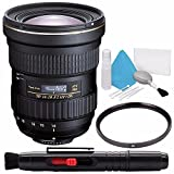 Tokina AT-X 14-20mm f/2 PRO DX Lens for Nikon F (International Model) No Warranty + Deluxe Cleaning Kit + 82mm UV Filter Bundle 3