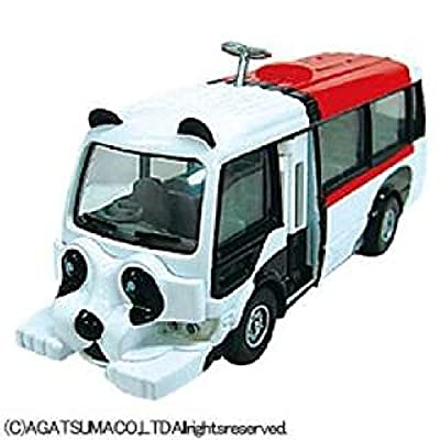 AGATSUMA Diamond pet DK-4111 panda bus Japan used like new
