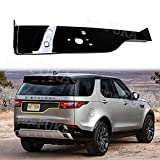 Huanlovely: Car Rear Trunk Tail Gate License Decoration Trim Decal Frame Fit for Land Rover Discovery 5 LR5 2017 L462 Car Styling Accessory