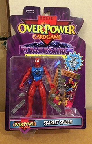 Marvel universe Over power SCARLET SPIDER spider-man toy biz