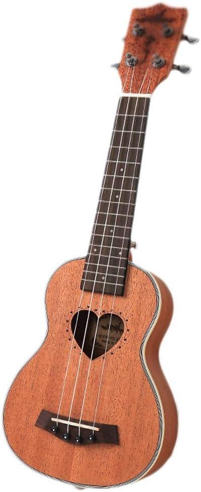21 pulgadas ukulele caoba acústica Nylon 4 cuerdas Ukulele bajo ...