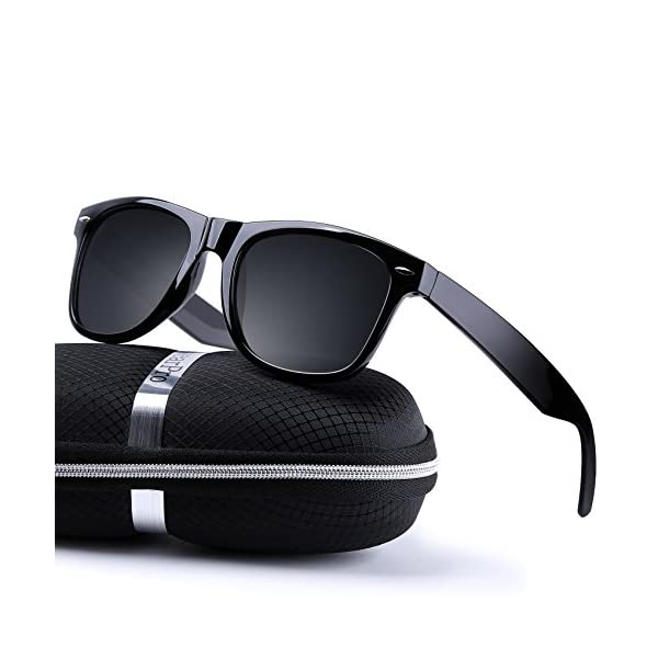 f746124194e wearPro Wayfarer Sunglasses for Men Women Vintage Polarized Sun Glasses  WP1001